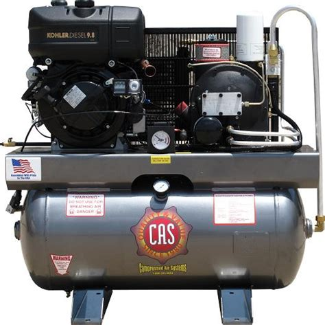 cas portable rotary screw air compressors  compressed air systems
