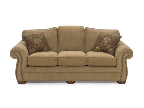 Sofa Sleeper By Furniture by Craftmaster Living Room Three Cushion Sleeper Sofa