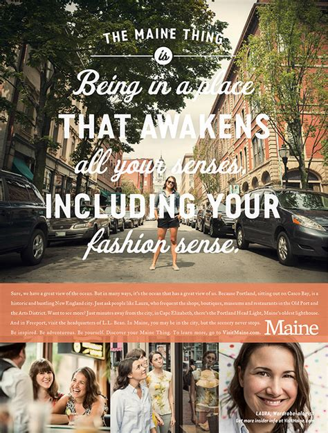 Maine Office Of Tourism by Maine Office Of Tourism Caign Through Bvk Milwaukee On