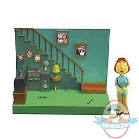 family guy living room family guy living room with lois action figure playset by