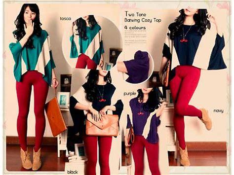 Blouse Spandek Rayon Jumbo Blus Spandex Big Size Brukat Murah rayon fashion butiq laman 5