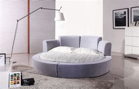 hot sale luxury king size round bed with pillow on aliexpress com buy super king size fabric soft bed 2x2m
