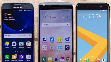 best new android phones htc 10 vs samsung galaxy s7 vs lg g5 best new android phone 2016 tech advisor