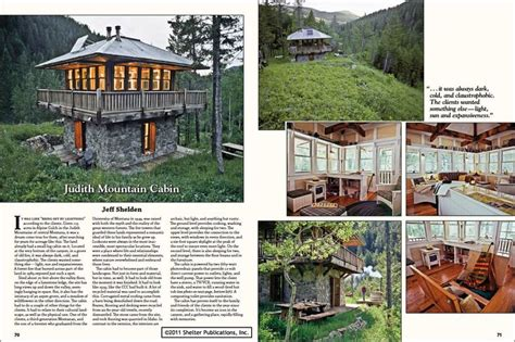 judith mountain cabin tiny houses 2011 shelter publications inc downsizing