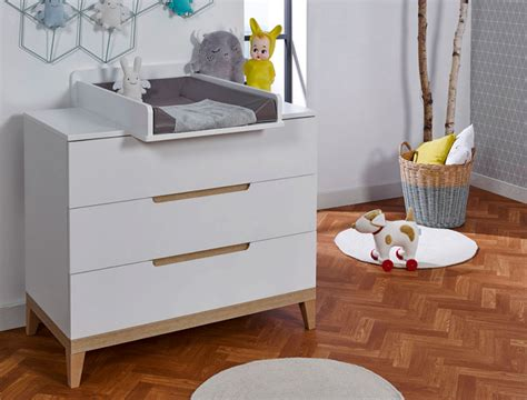 Commode Couleur Hetre by Commode Evidence Blanc Et H 234 Tre