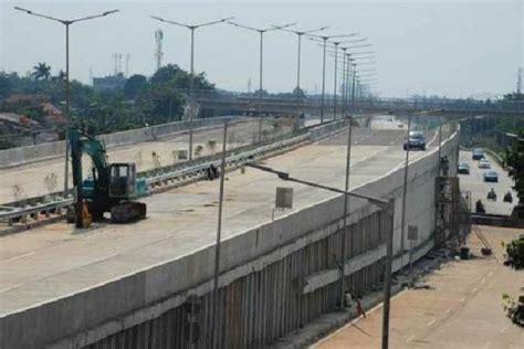 rute pintu tol jagorawi proyek tol rute pekanbaru dumai tinggal 50 meter lagi