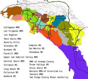 southern district of california map metropolitan water district of southern california member