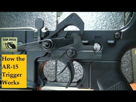 ar 15 trigger work how the ar 15 trigger works