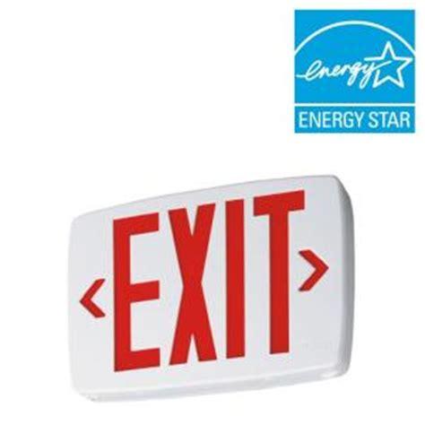 Lu Emergency Quantum lithonia lighting quantum thermoplastic led emergency exit