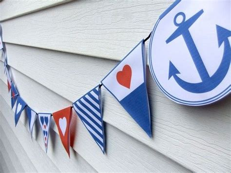 25 best nautical bunting ideas on
