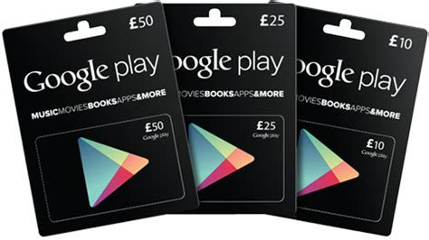 Gift Card Play Store - google play android app store gift cards hit the uk tech digest