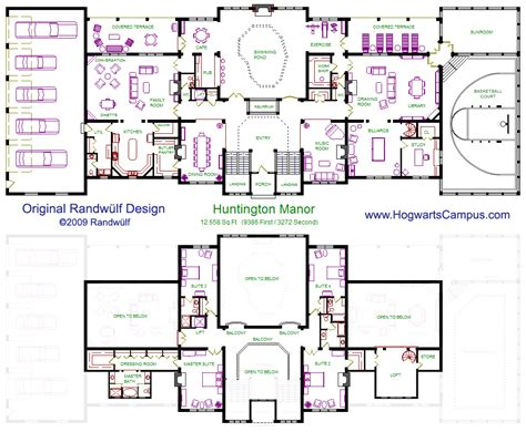 manor floor plan huntington manor home pinterest hogwarts house and