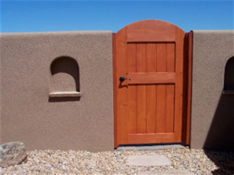 albuquerque custom wood gates new mexico wood gate builder