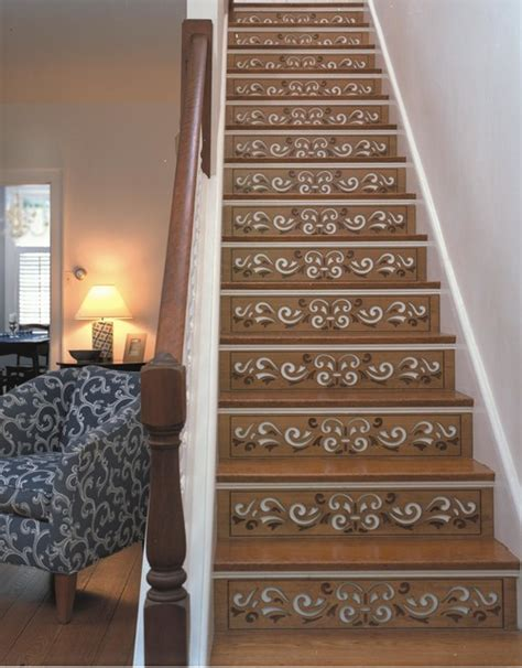 Decorative Stair Risers by Decorative Stair Risers