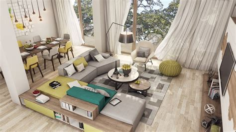 Home Design For Young Couple by 2 Luxury Apartment Designs For Young Couples