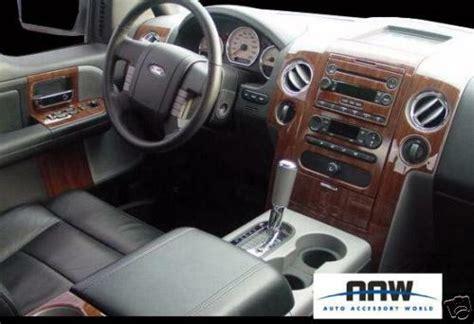 ford    xl xlt stx interior wood dash trim kit