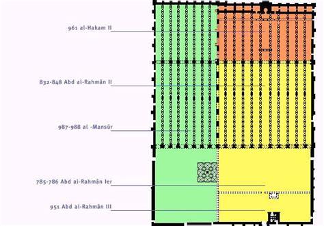 Mosque Floor Plan by Cordoue