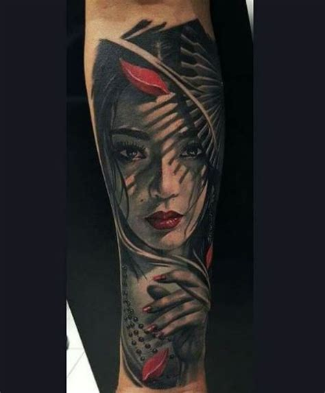 50 beautiful japanese geisha tattoos ideas 2018