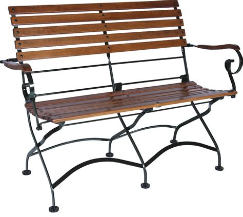 folding benches amazon com mobel designhaus french caf 233 bistro 2 seat