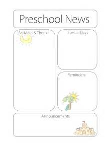 preschool newsletter templates doc 495640 preschool newsletter template 17 best ideas