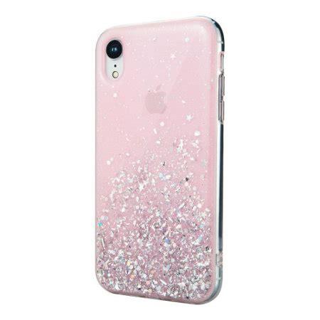 switcheasy starfield iphone xr glitter pink