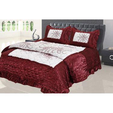 Bed Cover Wedding Import 3 buy banarsi das wedding set of 1 bedsheet 1