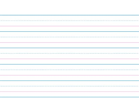 wide lined writing paper wide ruled lined paper template for dollhouse