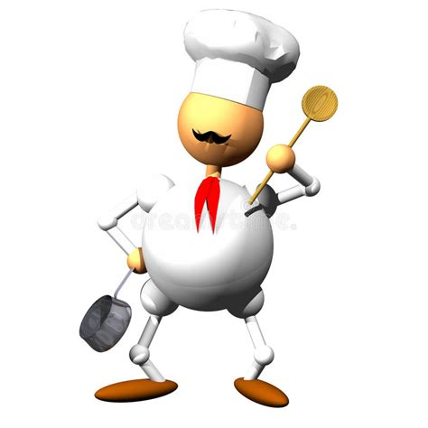 clipart cuoco chef clipart stock illustration illustration of white