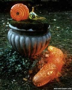 pumpkin creatures alligators and snails martha stewart