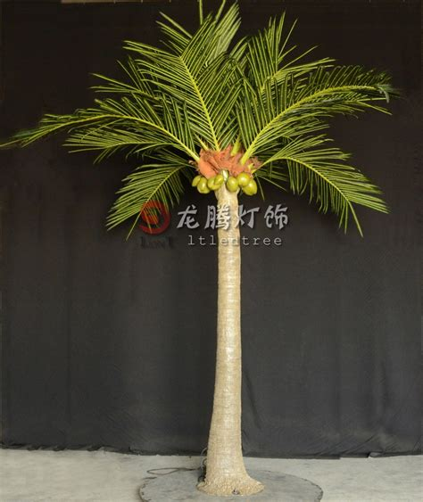 Ce Approved 4m Realistic Outdoor Artificial Led Palm Tree Outdoor Lighted Palm Tree