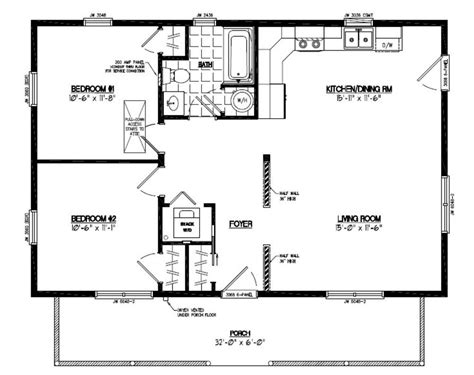 Home Design Floor Plans House Floor Plans 24x30 Home Deco Plans