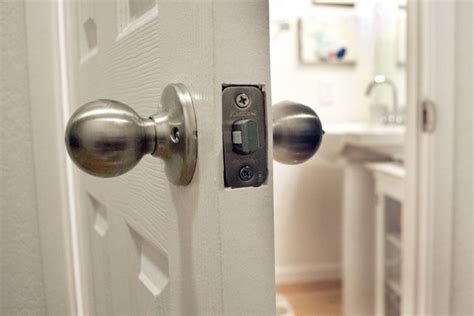 how to get in a locked bedroom door how to unlock a locked bathroom door with pictures ehow