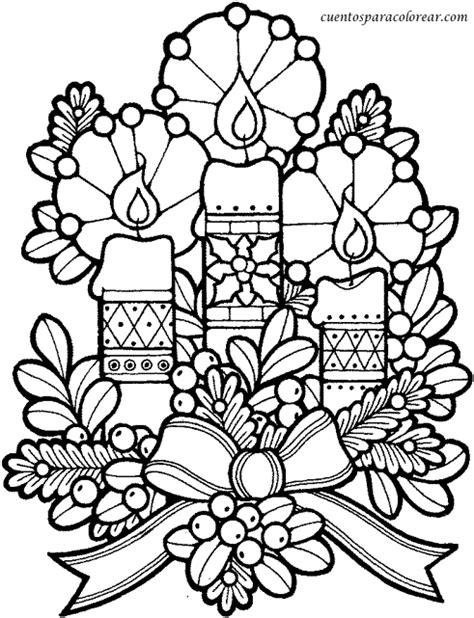 imagenes de navidad para colorear de velas dibujos para colorear velas navide 241 as