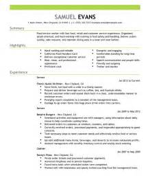 A Template For A Resume by Resume Sle 9 Resume Cv