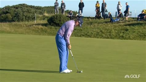 golf yips cure in golf swing ernie els is hoping cross handed putting will cure his