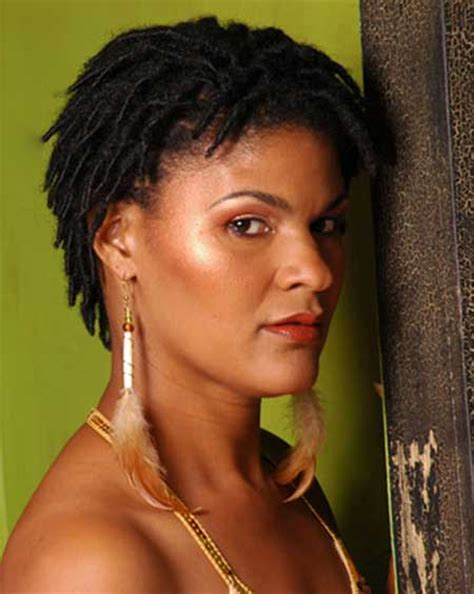 short dreadlock styles for black women 25 best short hairstyles for black women 2014 short