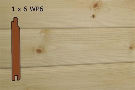 1 X 6 Shiplap Pine Paneling Cedar Creek Lumber Building Materials