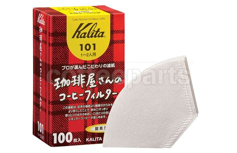 Kalita Paper Filter 101 50p kalita 101 coffee filters to fit flat v coffee drippers