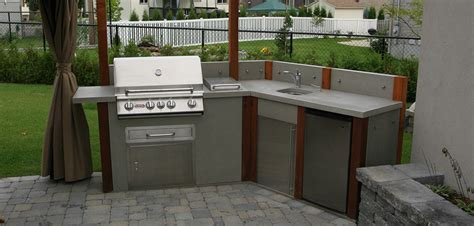contemporary outdoor kitchens contemporary outdoor kitchen montreal outdoor living