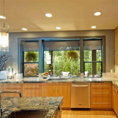 teal kitchen oak cabinets paint colors for our walls big windows window and
