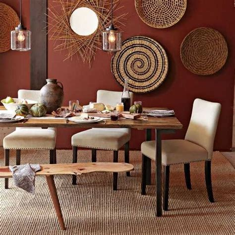 dining room wall art decor wicker wall decorations and modern wall on pinterest