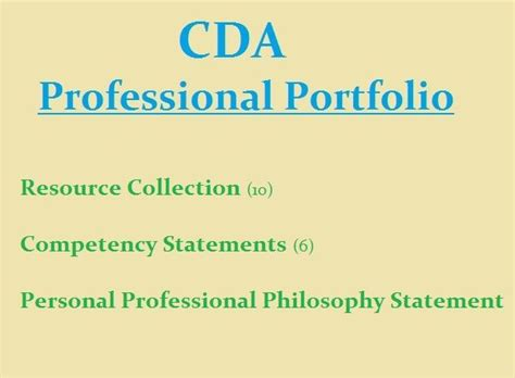 cda portfolio template 86 best images about cda professional portfolio on