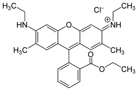 Rhodamin B rhodamine 6g