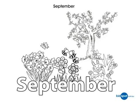 activities for kids september colouring in