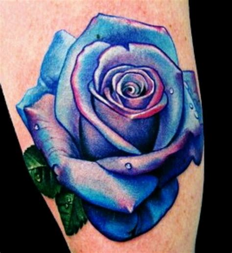 blue rose tattoo and piercing blue designs and ideas inked up