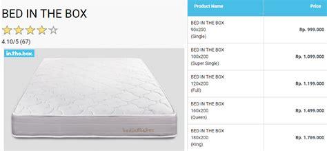 Box Di Hypermart spesifikasi dan harga springbed in the box uwien budi
