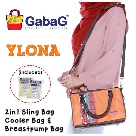 Gabag Cooler Bag Tas Pendingin Asi Ibu Menyusui Mutiara gabag ylona sling cooler bag tas pendingin asi include
