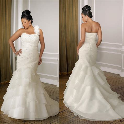 mermaid wedding dresses plus size plus size wedding dresses mermaid style prom dresses