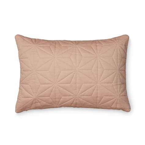 Quilted Chair Cushions by Leo Cushion Quilted Rectangular Blush