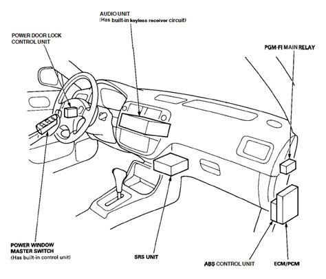 1995 honda accord fuel wiring diagram wiring